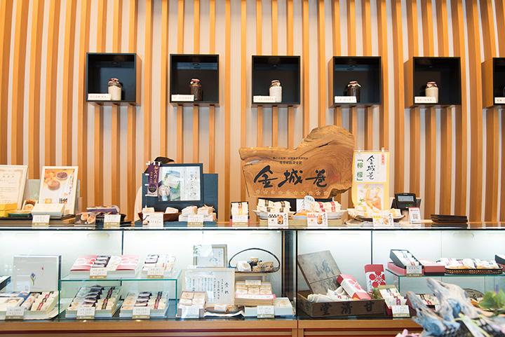 「金沢和菓子作り体験」参加者は、買い物もカフェも100円引きになる特典あり