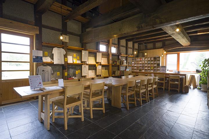 「十八蔵」にちなんで、みんなの「おはこ」が集まる場所にと名付けられた「ohaco cafe」
