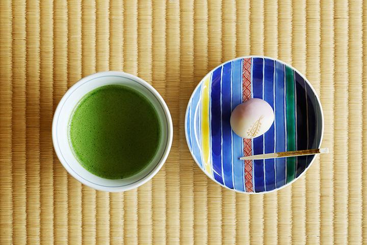 抹茶(生和菓子付き)730円