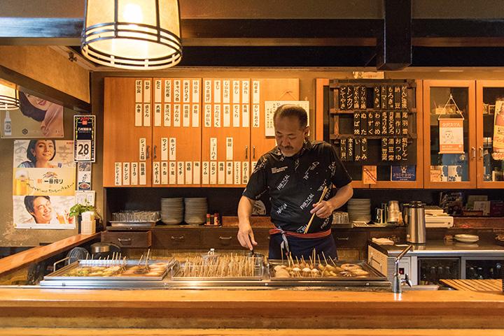昭和の風情漂う店。「ミシュランガイド富山・石川(金沢)2016 特別版」でビブグルマンに選ばれた名店