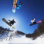 オープン初日から楽しめるスノーボーダー向けの「スノーパーク」