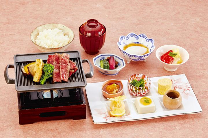 「和風ステーキ御膳」3,630円