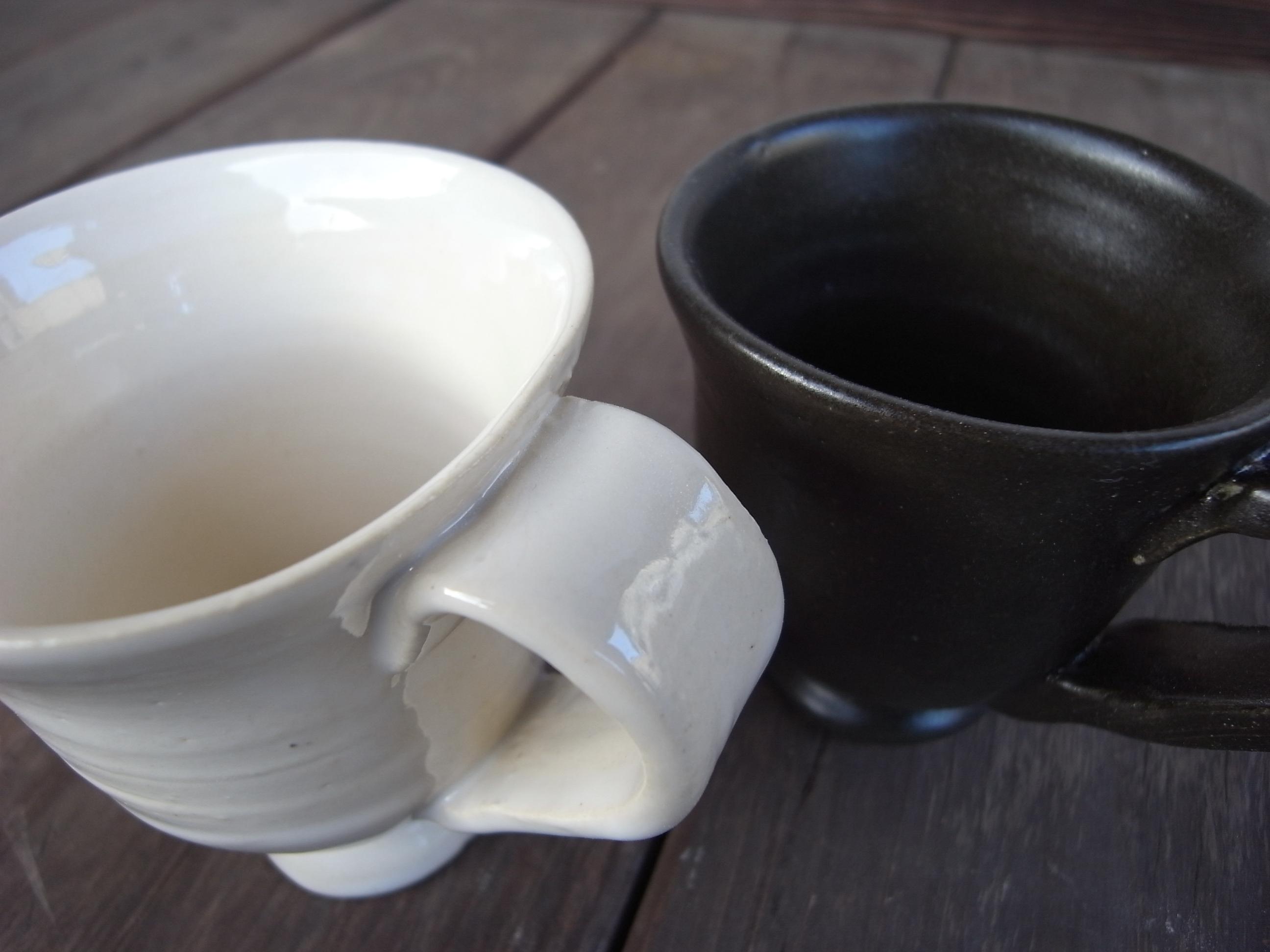 粘土を使って、アイデアをそのまま器に表現