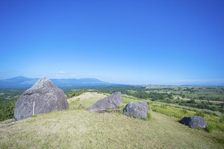 フォトジェニックスポットとしても魅力的な丘。映画の撮影に使われたことも