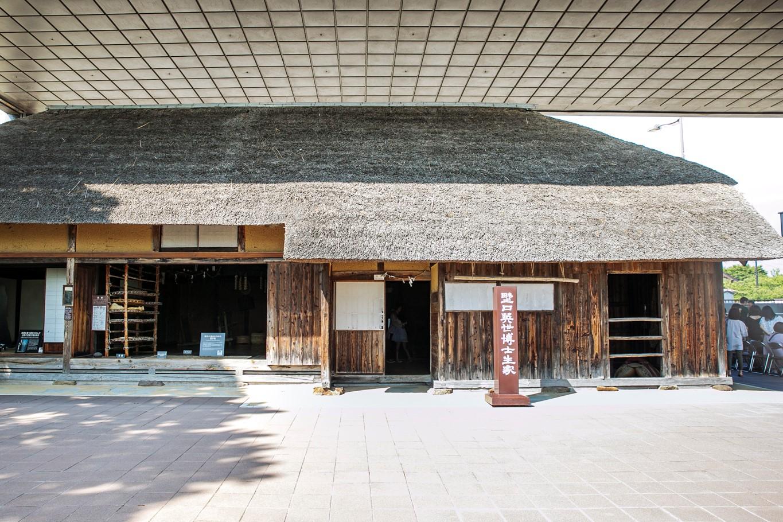 野口英世が上京するまで住んでいた生家