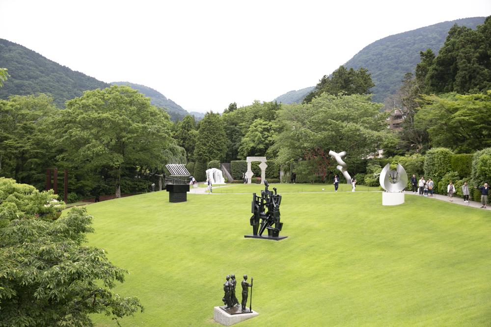 箱根の自然と芸術が美しく融合