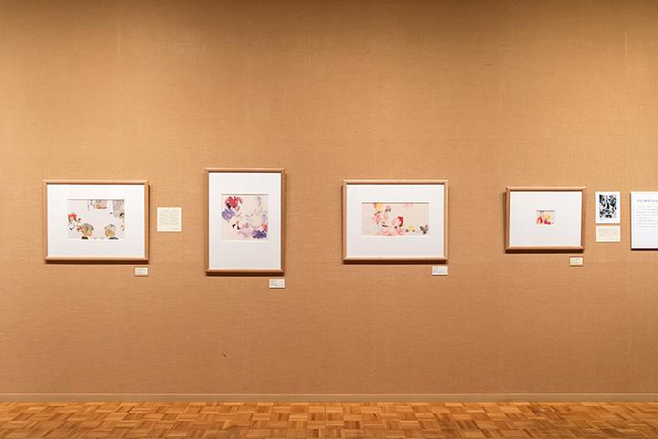 展示作品は中心の高さが床から135cmと、子どもも楽しめる工夫が