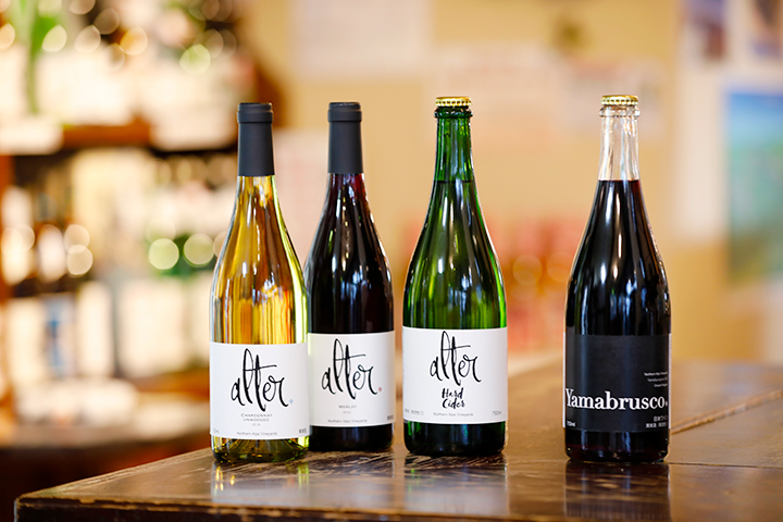 新進気鋭のワイナリー「ノーザンアルプスヴィンヤード」のワインとハードサイダー(シードル)
