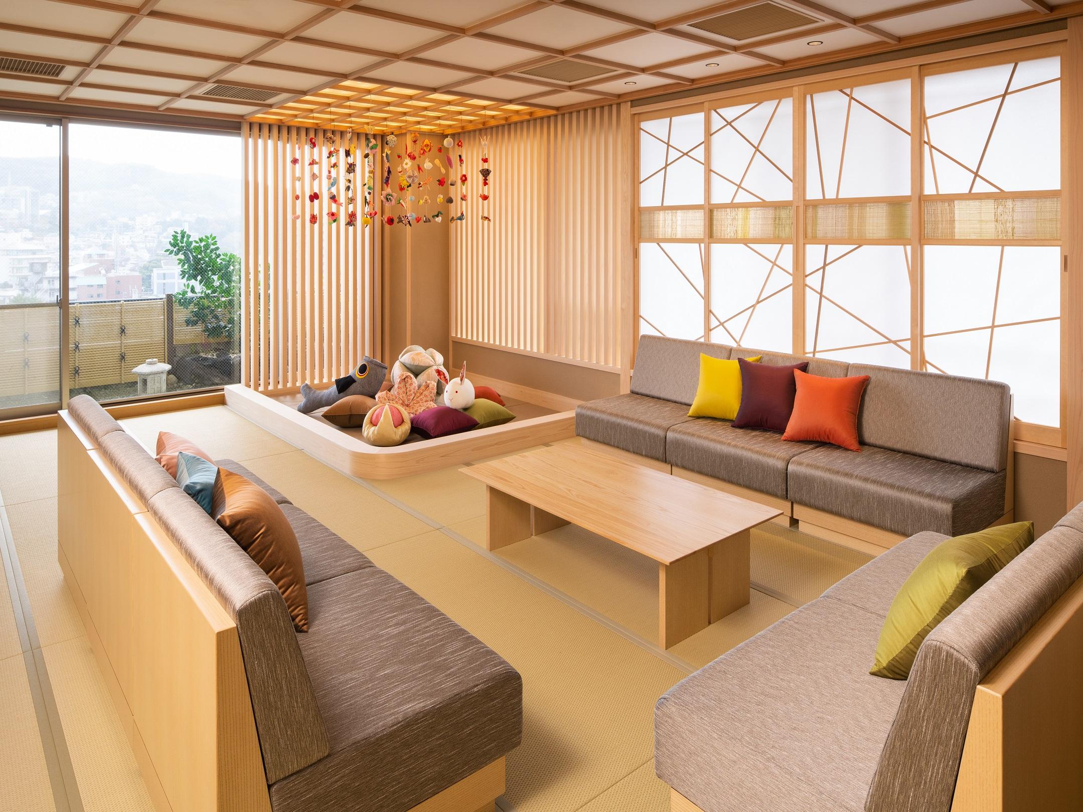最大8名が宿泊できる「特別和室」は、三世代家族での宿泊におすすめ