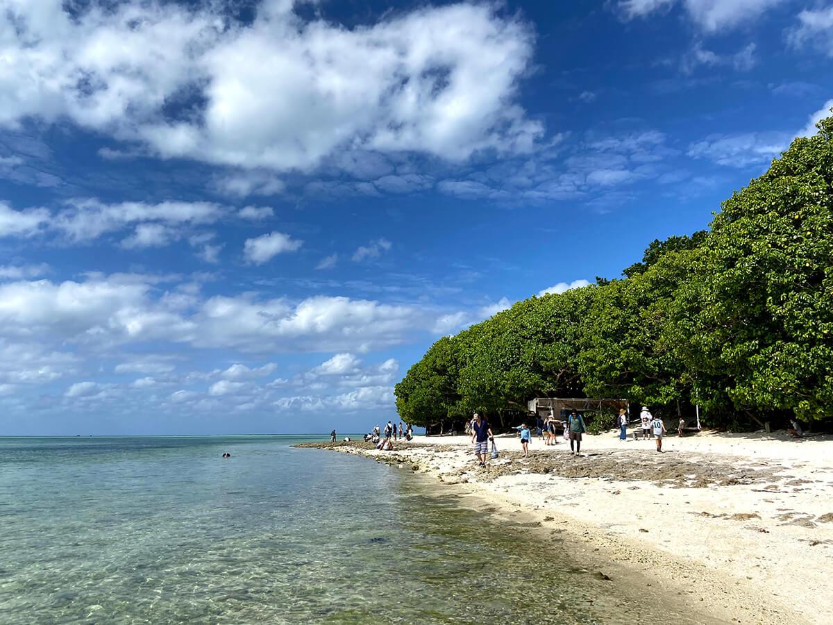 星の砂を探すことができるカイジ浜