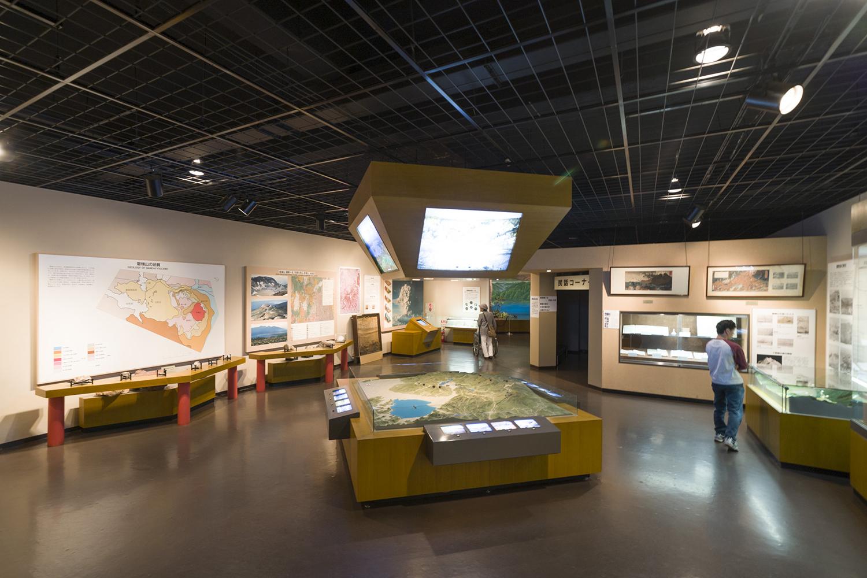 ジオラマ模型などが多く、展示内容が理解しやすい