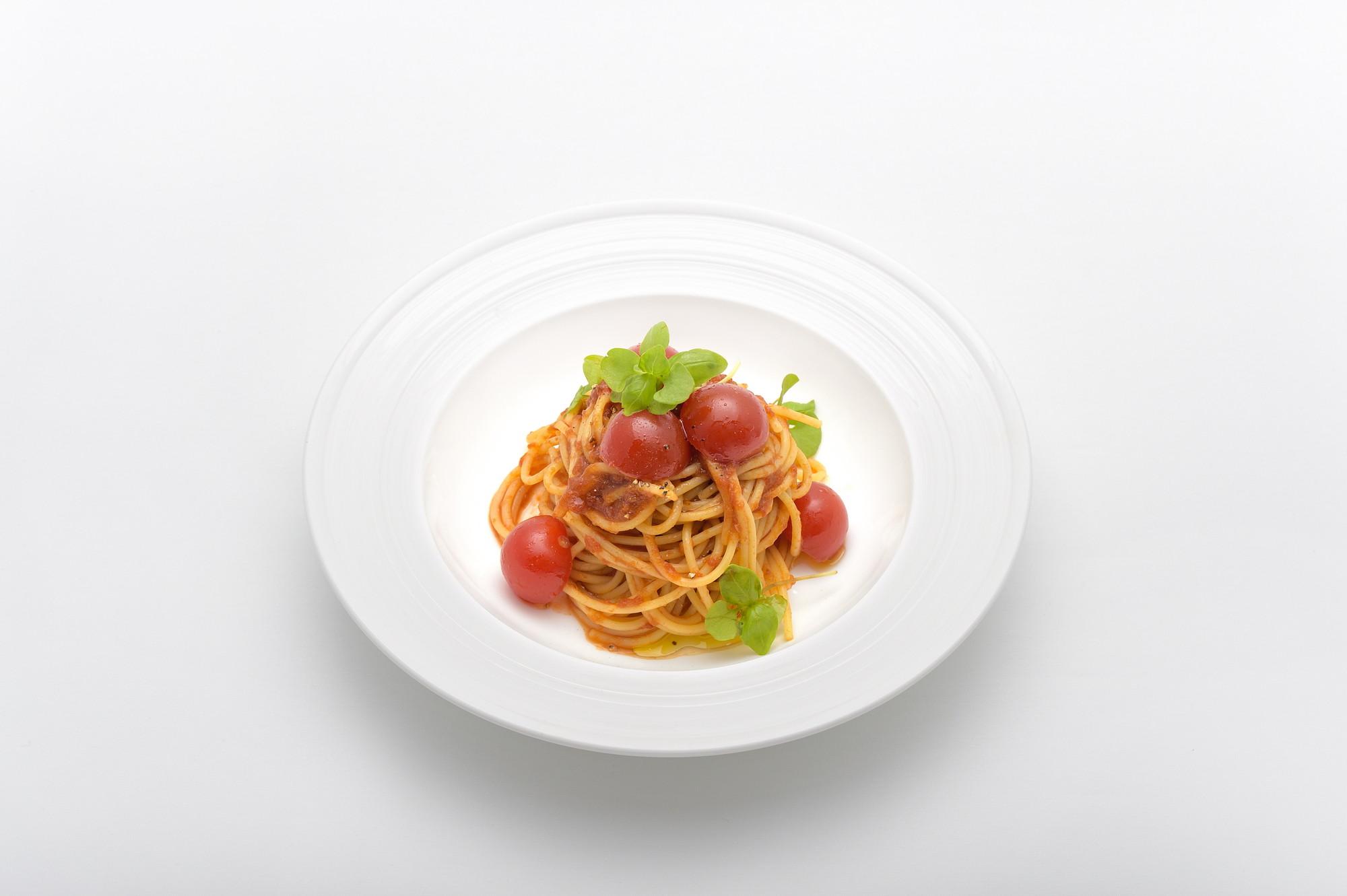 「伊豆産フレッシュトマトのスパゲティ」1,100円(税込)