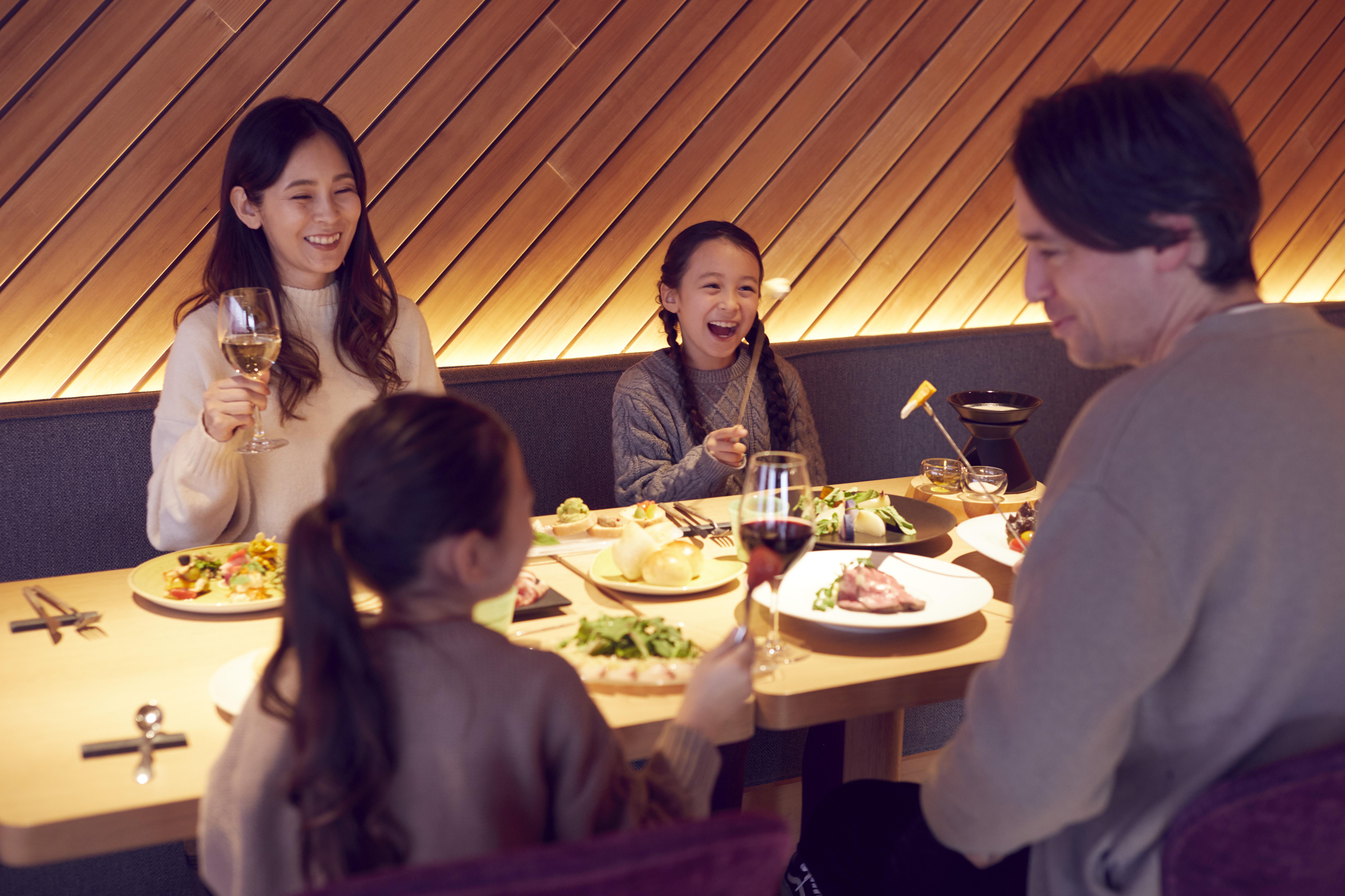 【リゾナーレ那須】SHAKI SHAKI夕食イメージ