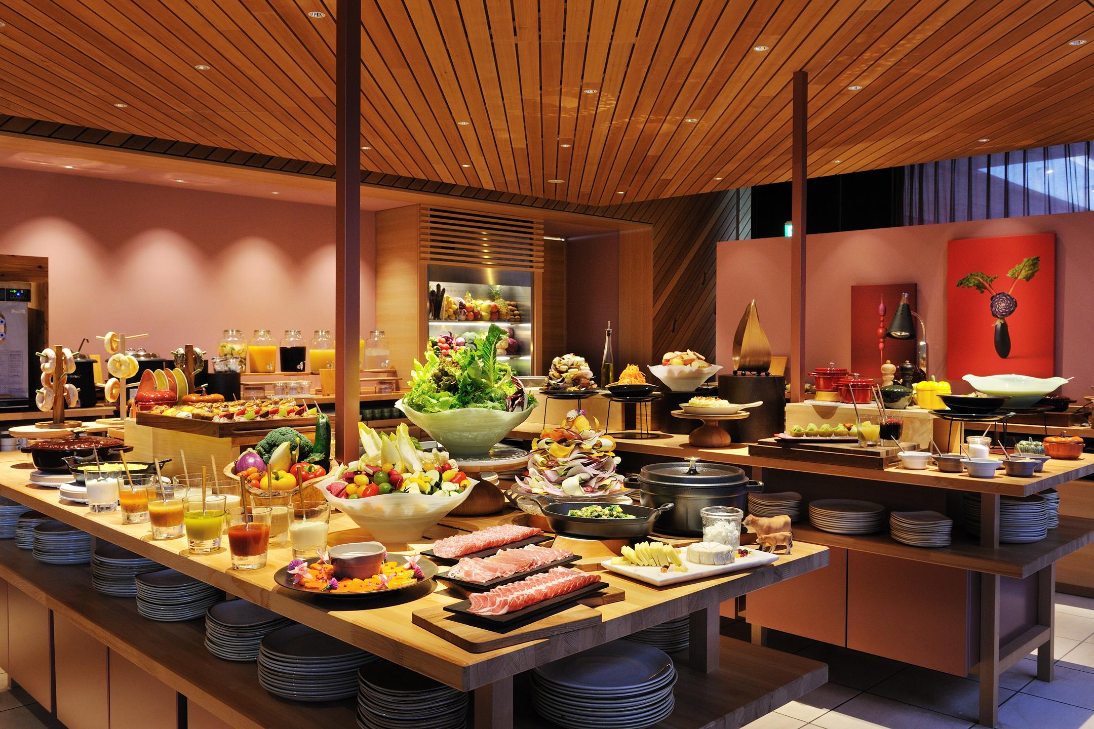 【リゾナーレ那須】夕食 SHAKI SHAKI