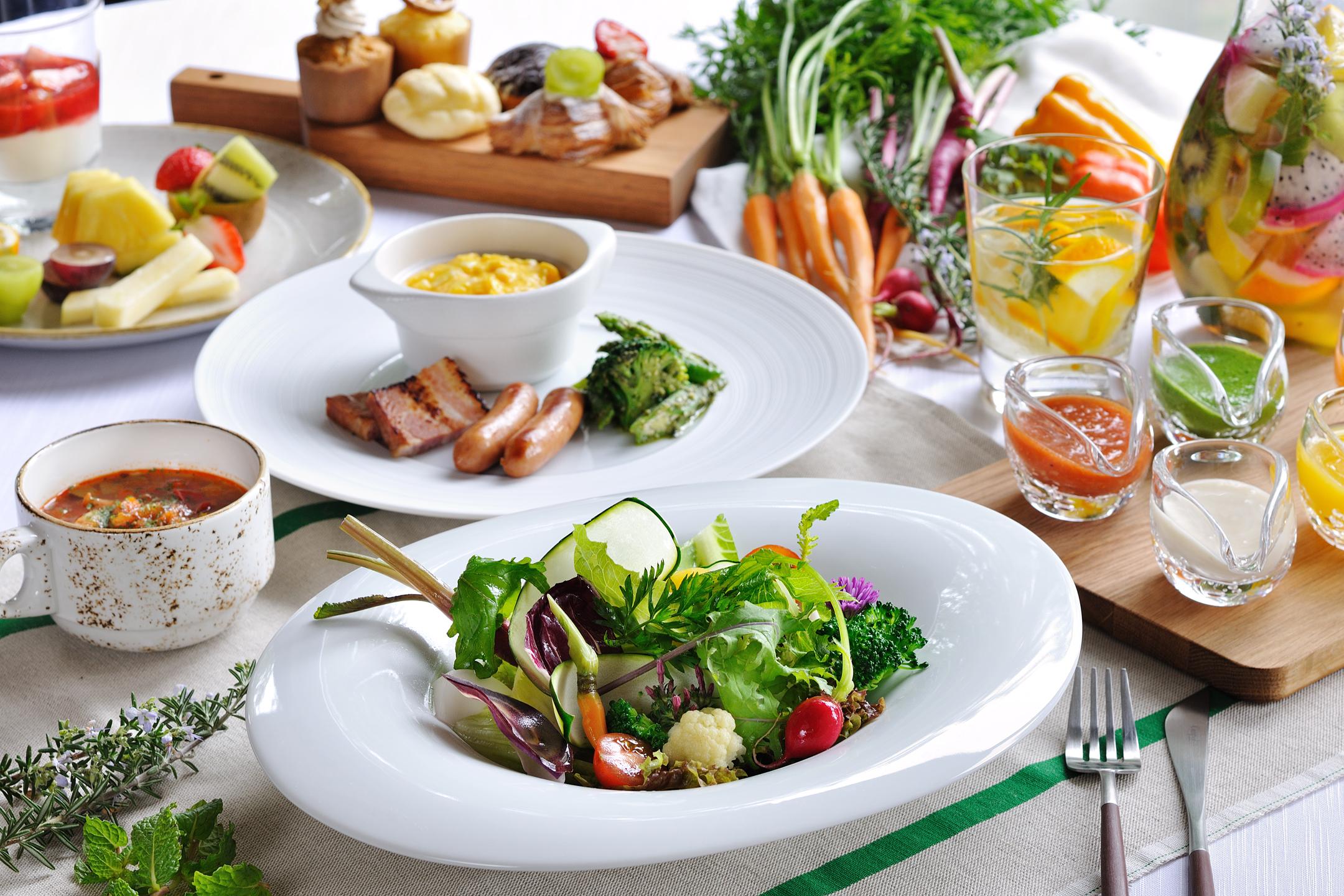 【リゾナーレ那須】朝食 SHAKI SHAKI