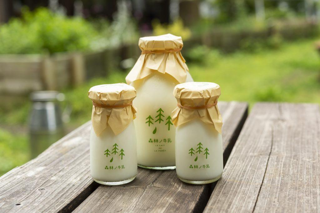 那須の四季が味わえる「森林ノ牧場」のジャージー牛乳