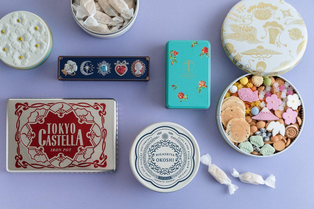東京土産に人気のおしゃれでかわいい菓子缶5選