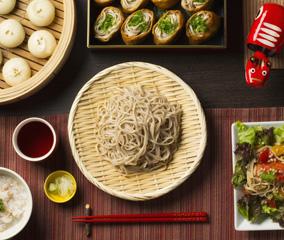 会津磐梯蕎麦づくし