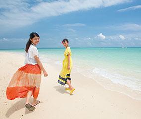 【リゾナーレ 小浜島】絶景「幻の島」へ