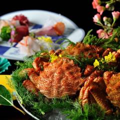 青森に春を告げる「花見蟹」の特別会席