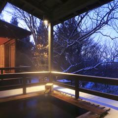 プライベート雪見露天風呂