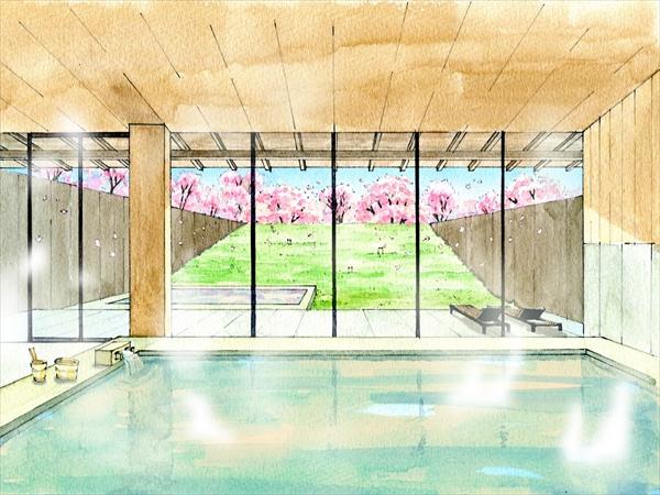 【界 鬼怒川】名湯 鬼怒川温泉で満開の桜を愛でる花見風呂