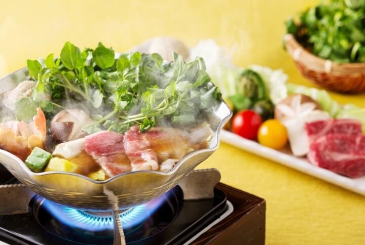【星野エリア】クレソンと春の彩り鍋t