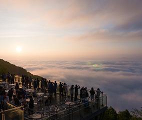 トマムの朝を彩る「雲海テラス」