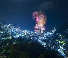 夏の夜空を彩る「熱海海上花火大会」