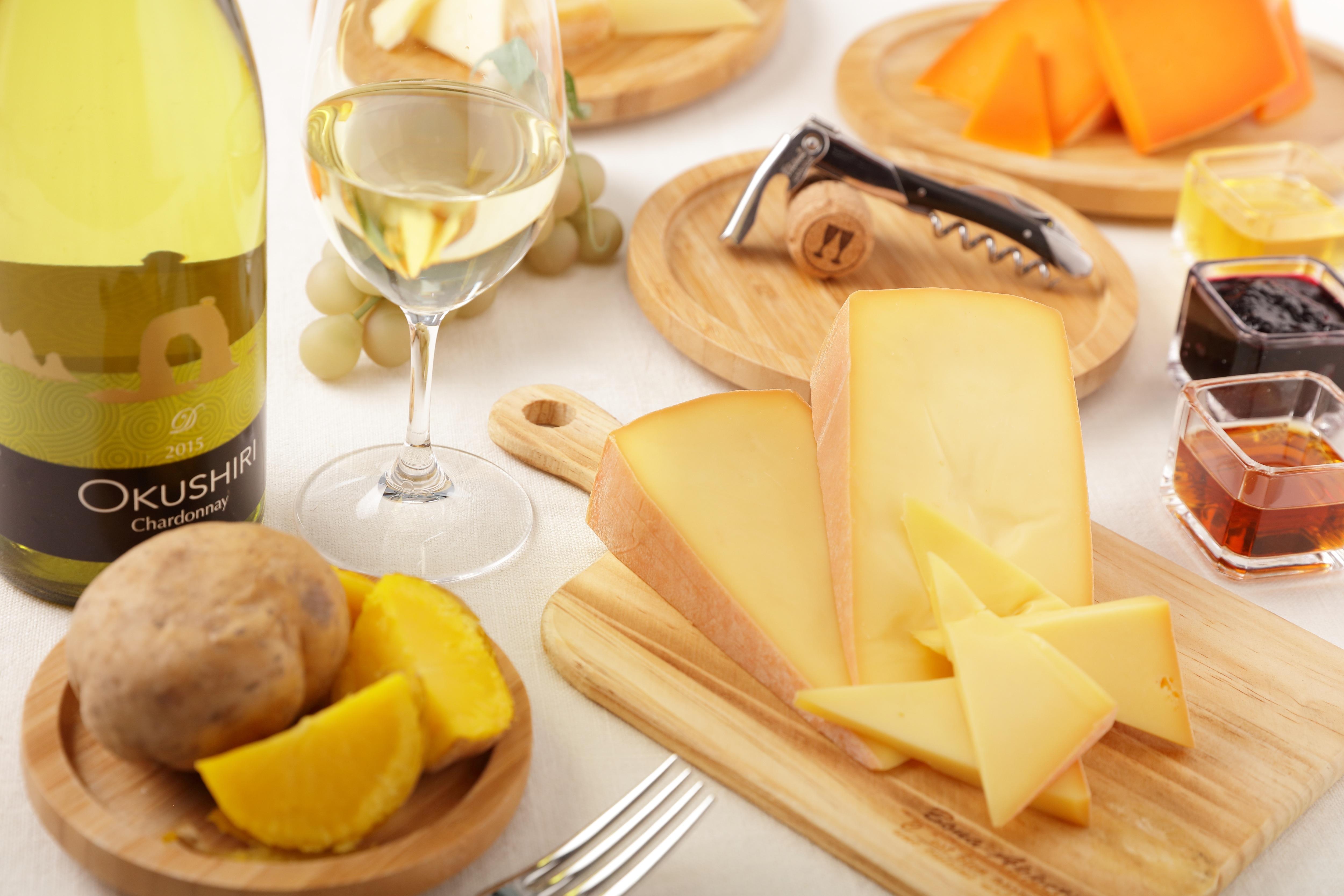 【トマム】北海道チーズビュッフェ_味のマリアージュ例1