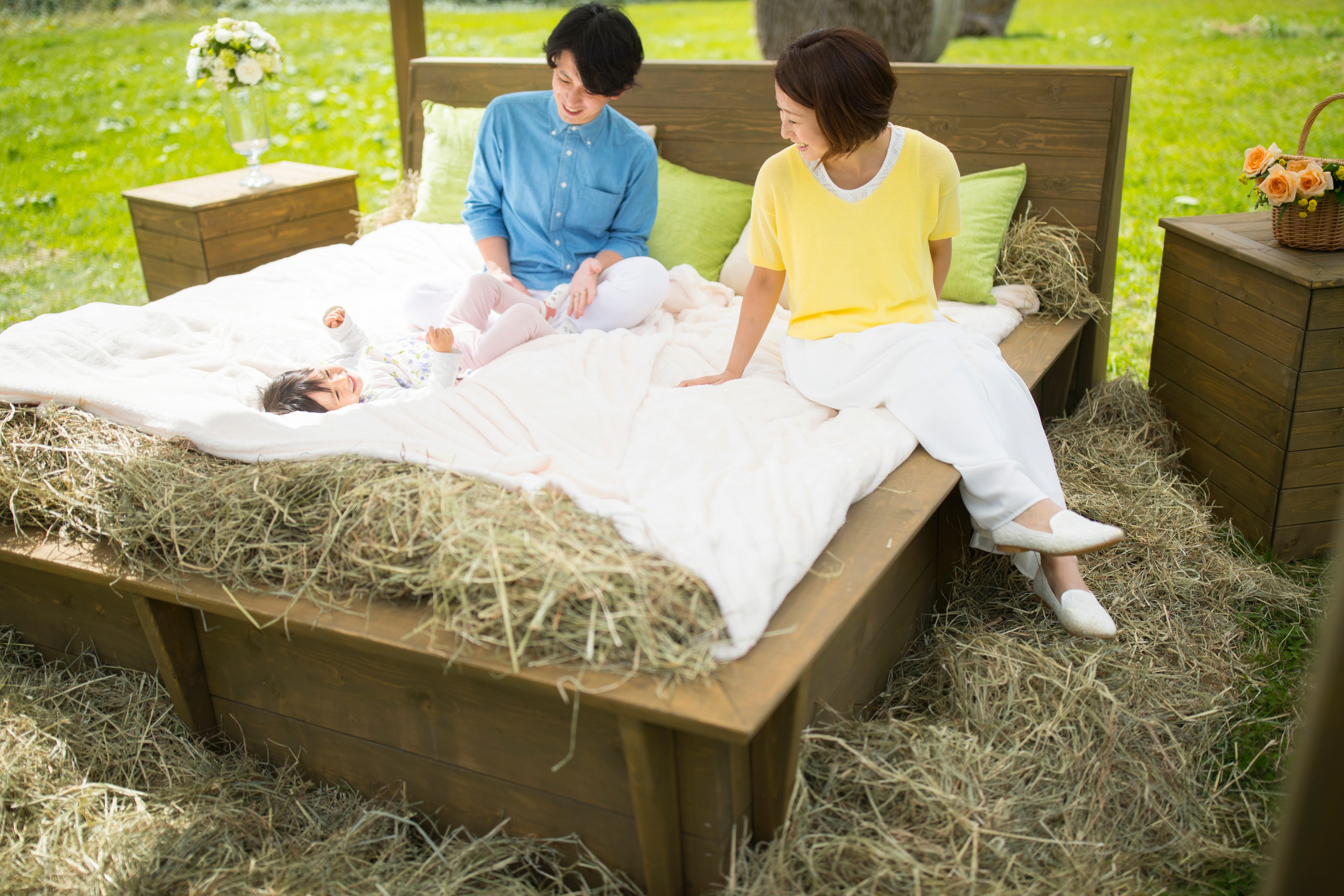 【トマム】牧草ベッド_ファミリー3