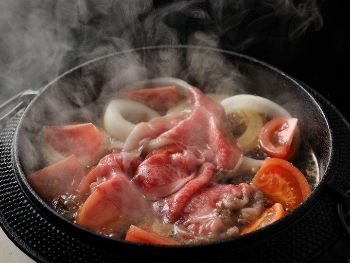 【界阿蘇】トマトすき焼き