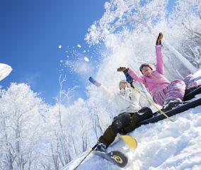 首都圏からの近さが魅力 家族でスキー