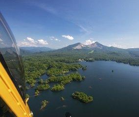 絶景を楽しむ3,500フィートの空中散歩