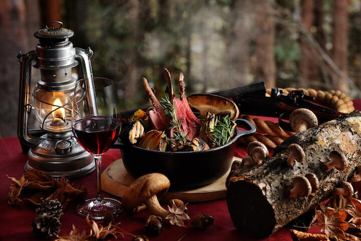【星のや富士】秋の狩猟肉ディナー_メイン