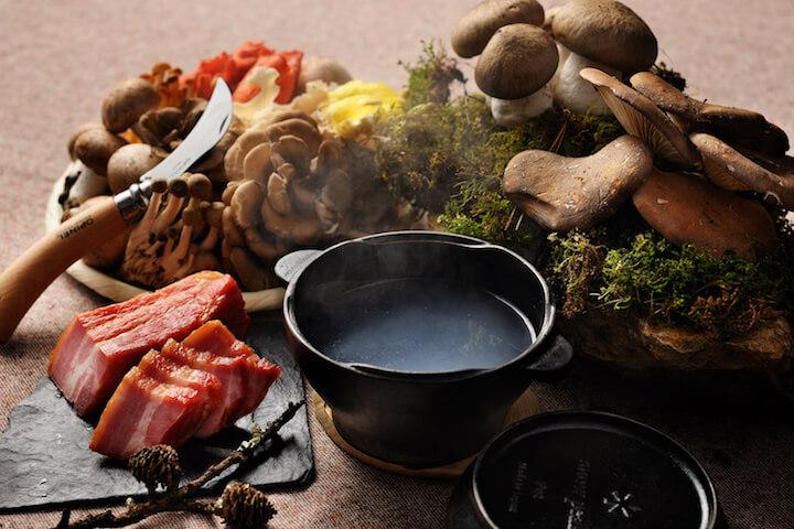 【星のや富士】秋の狩猟肉ディナー_スープ