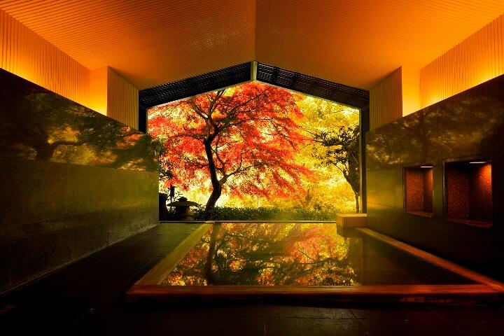 【界箱根】秋の大浴場