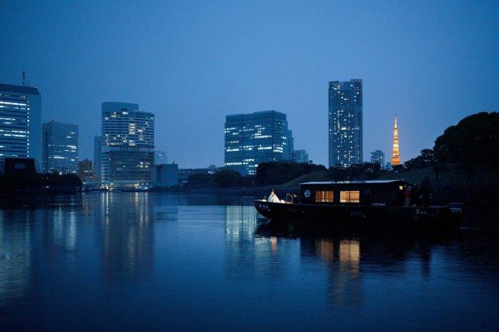 【星のや東京】舟あそび1