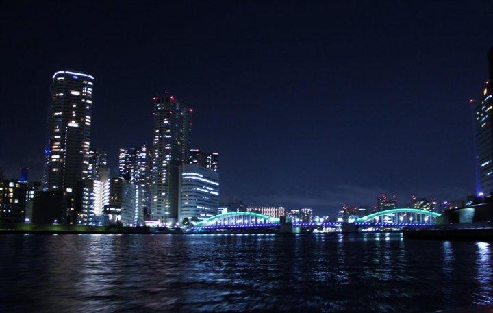 【星のや東京】舟あそび夜景