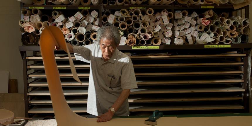 星野リゾートを支える人たちの手しごとvol.10  京唐紙 摺り師
