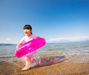 会津の夏の定番「湖水浴」
