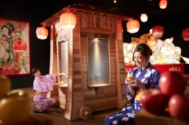 【青森屋】りんごジュースの出る蛇口 (2)