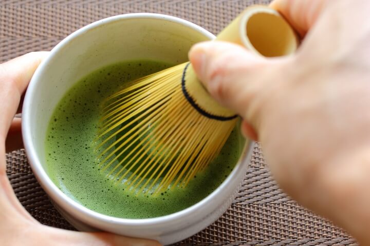 【界遠州】抹茶作り体験
