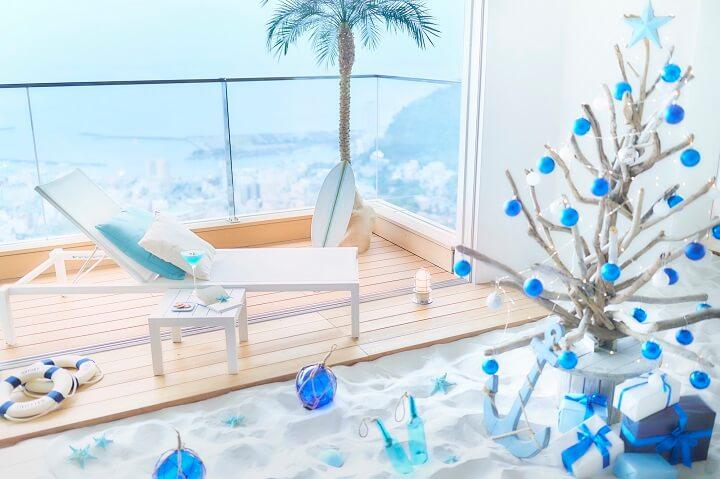 【リゾナーレ熱海】ビーチクリスマス(2)