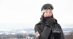 プロスノーボーダー 鬼塚 雅選手専用の練習パークがアルツ磐梯に