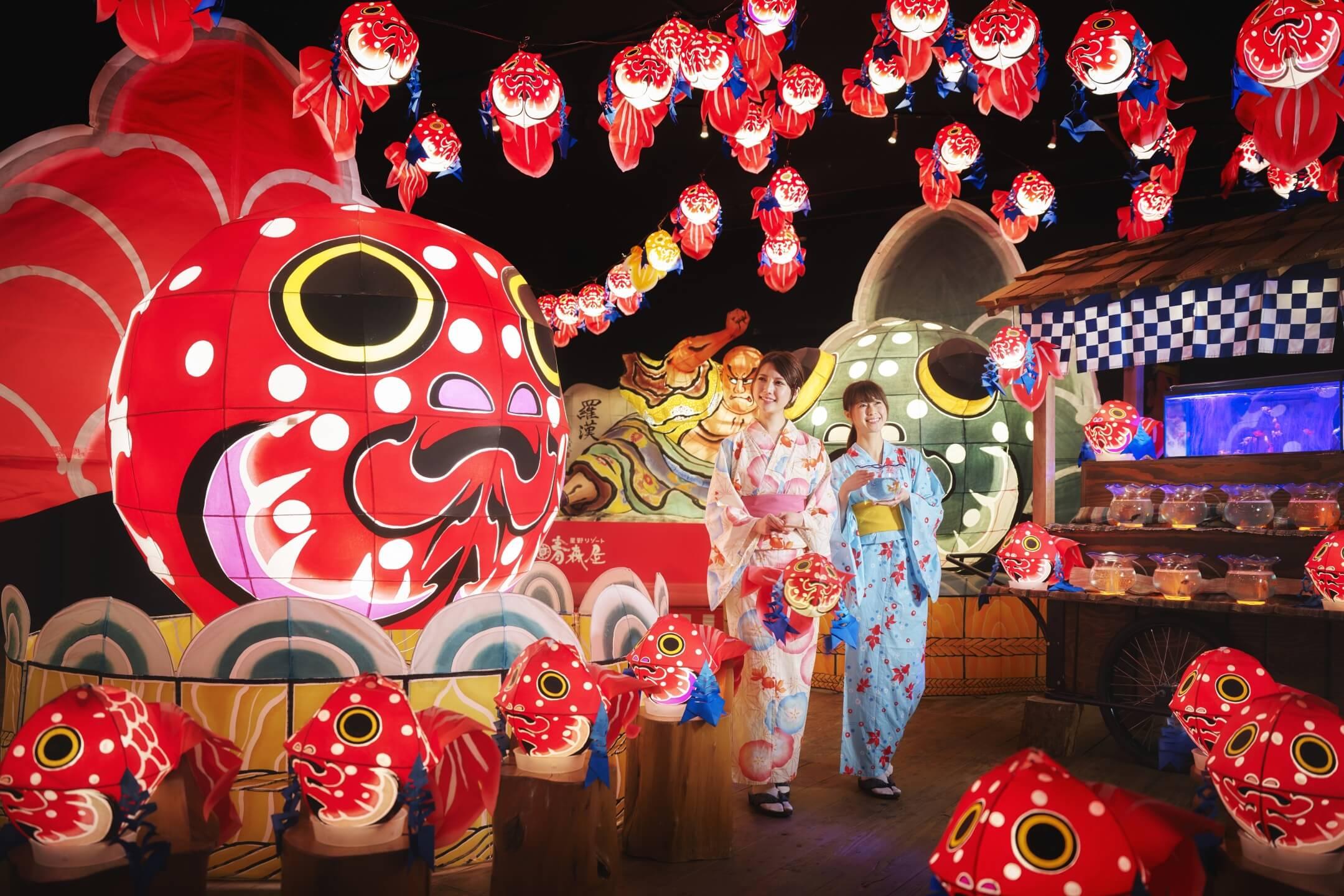 ねぶた 金魚 金魚ねぶた献灯祭|廣田神社〜病厄除守護神〜|青森県青森市