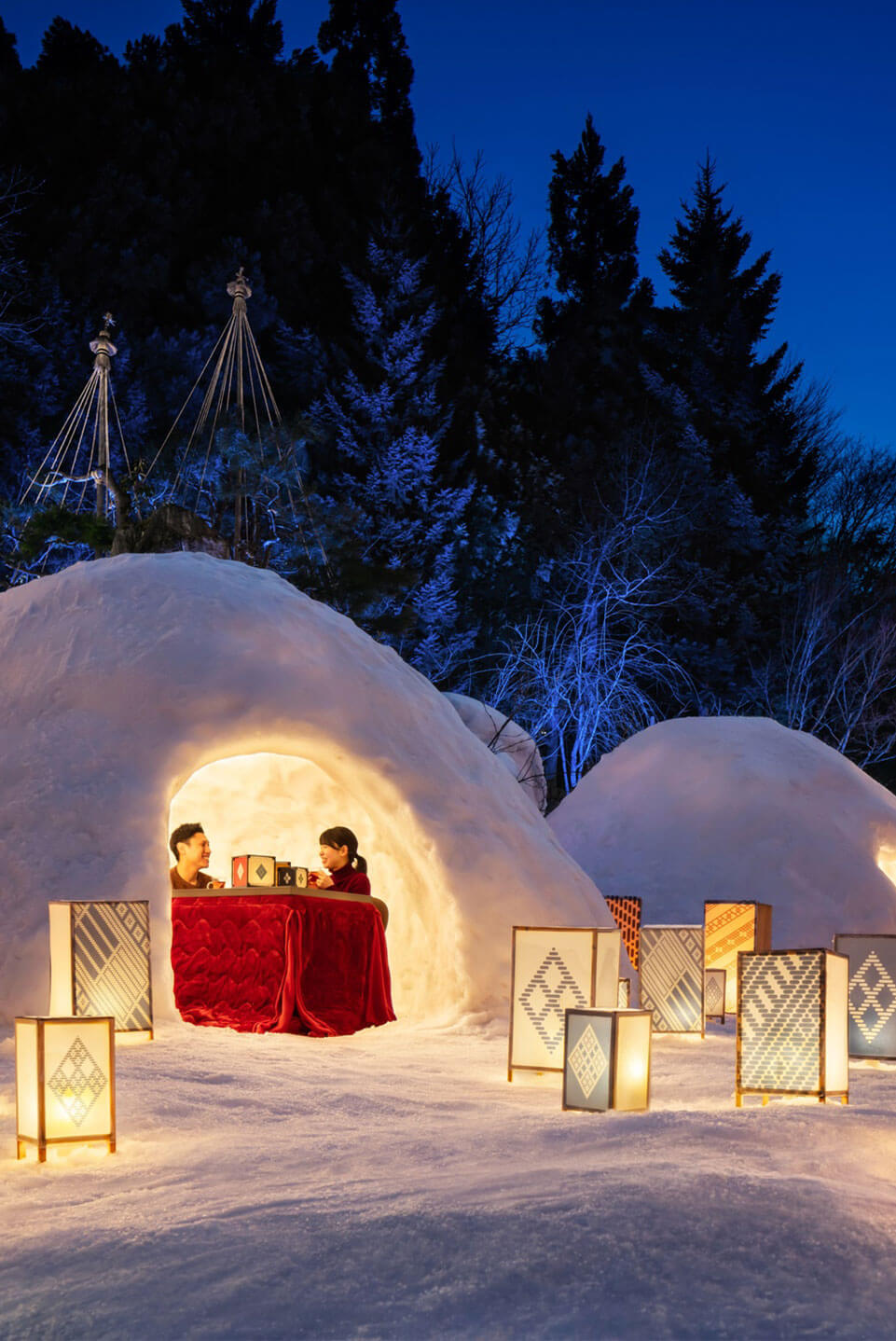 星野リゾート東北4施設 冬の東北旅
